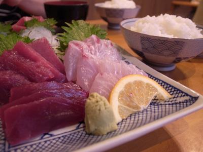 [IMAGE]まるいちまぐろ地魚盛り定食